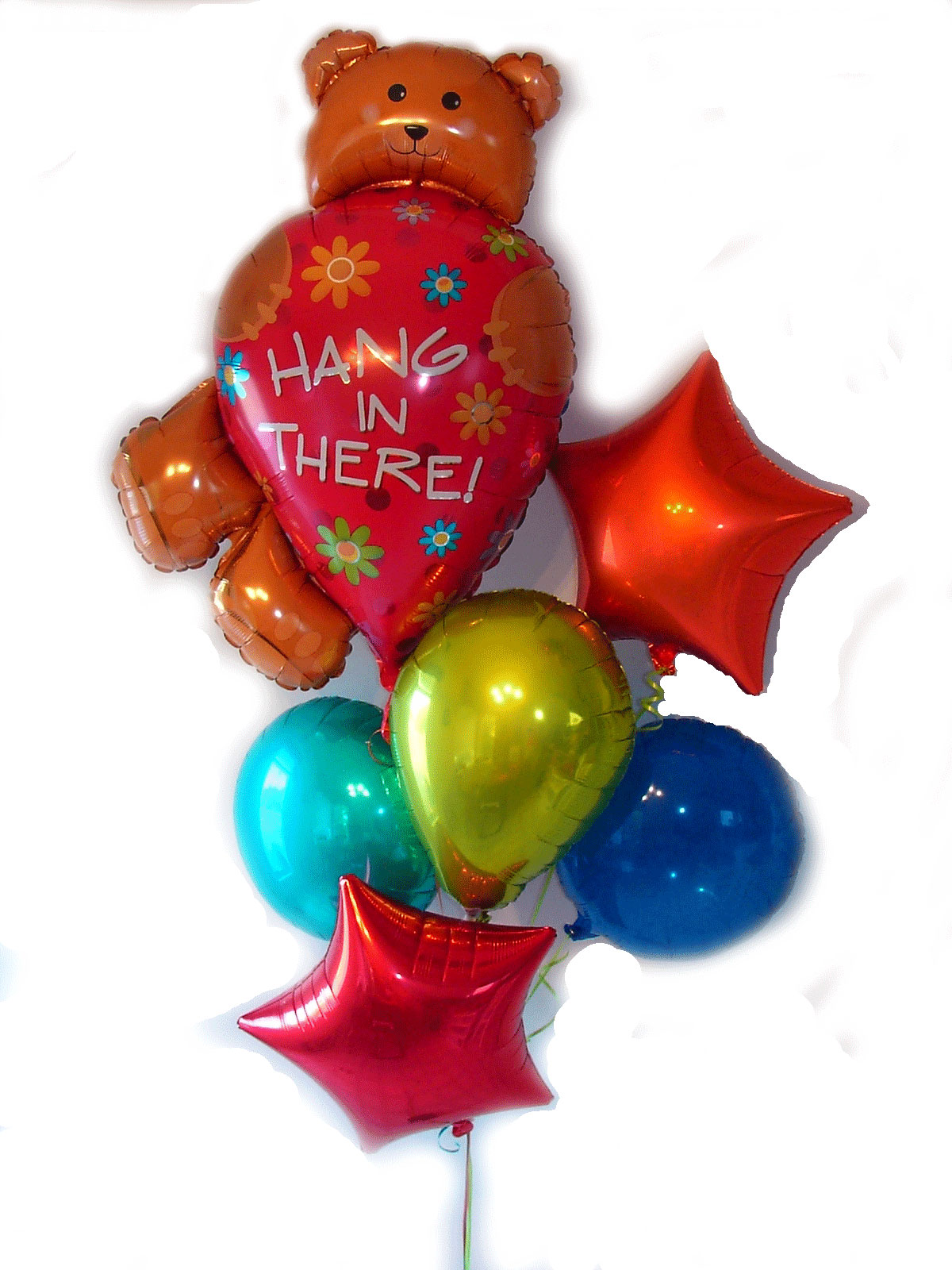 hang in there balloons Get Well Birthday