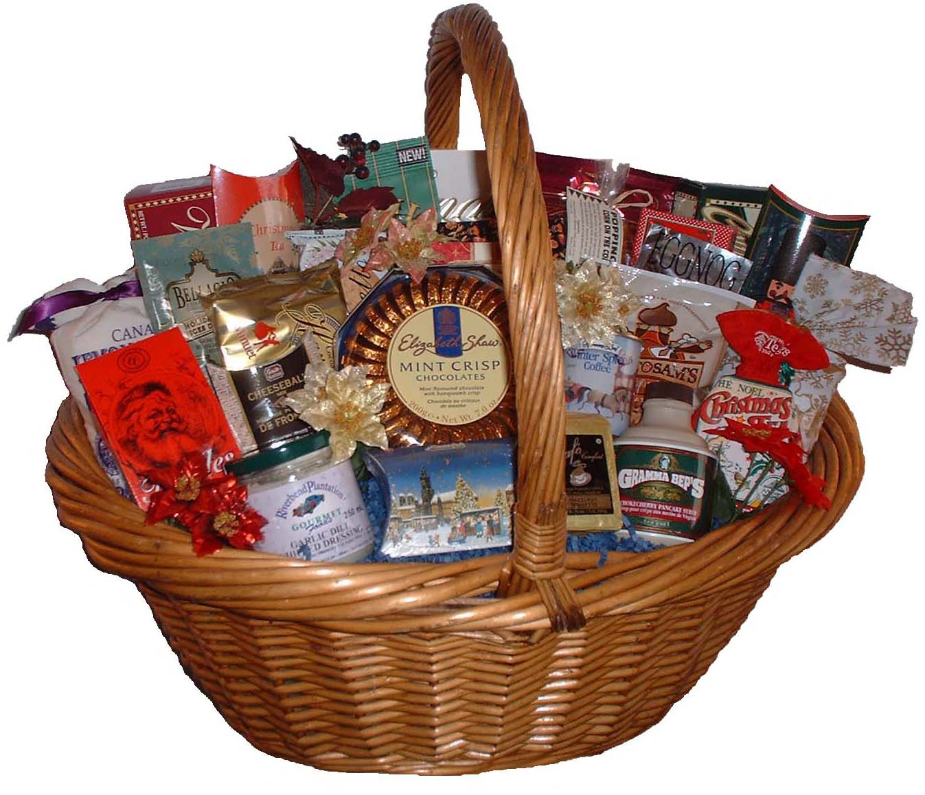 Gift Baskets Early Bird Promo ** Save up to 20% on select Holiday Gift Baskets, also ***Save 5% on orders $750 or more if ordered by December 6th.